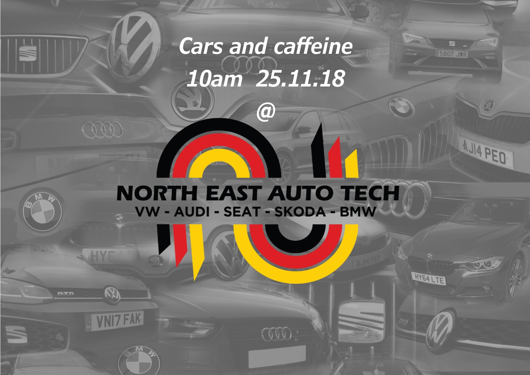 Cars & caffeine Sunday meet